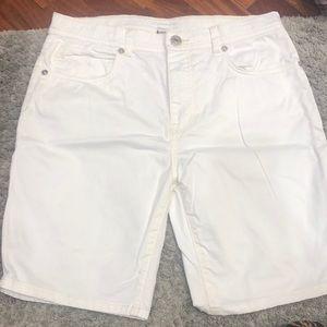Burberry white shorts